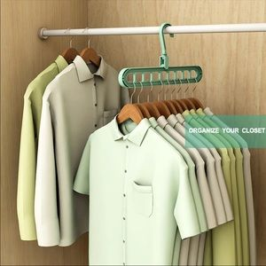 JUST IN  Multi Clothes Hanger and Drying Rack